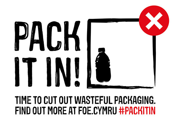 Pack It In - bottle version with strapline