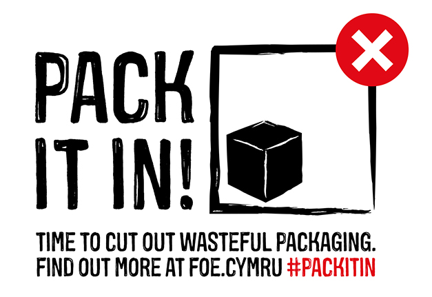 Pack It In - with strapline