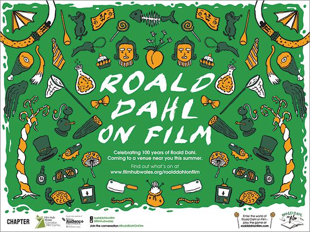 Roald Dahl on Film Quad