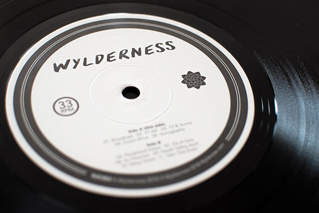 Wylderness album packaging